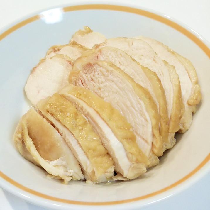 【節約レシピ】炊飯器で作る鶏むねチャーシュー風
