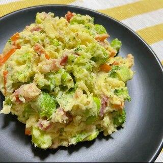 野菜たっぷり簡単ポテトサラダ