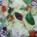 土佐ぶんたんのサラダ