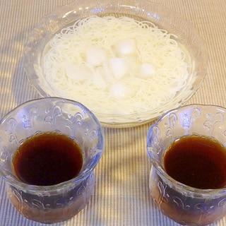 素麺と冷や麦のつゆの作り方