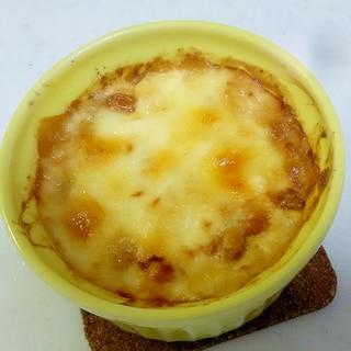 納豆&豆腐の味噌マヨグラタン++