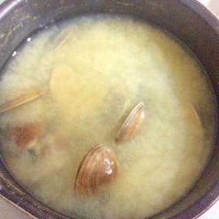あさりの味噌汁♫