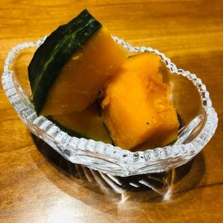 【レンジで簡単!】かぼちゃの煮付け⭐️