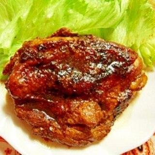 鶏肉の醤油焼カレー風味