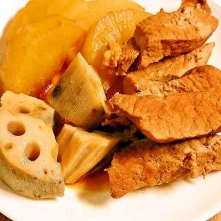 圧力鍋で節約レシピ 豚肉と野菜の煮物
