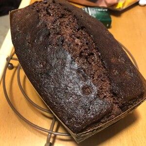 簡単ダブルチョコレートのおしゃれなパウンドケーキ