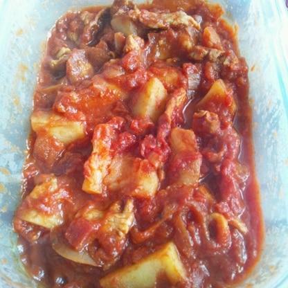 トマト煮初でしたがおいしいですね!感謝です(*^^*)また作ります!!