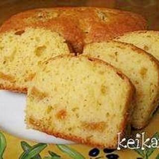 ホットケーキミックスで超簡単☆柿のケーキ