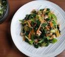 にんじんと青菜のツナ和え