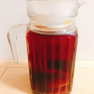 ウイスキーの紅茶漬け