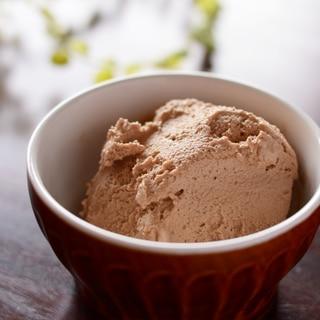 生クリームを使わないで作るチョコアイスクリーム