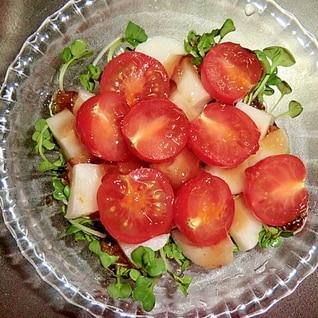 たくあんとトマトのサラダ