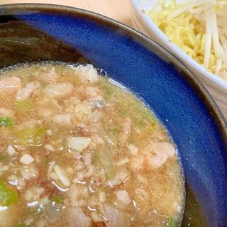 豚バラ濃厚魚介つけ麺