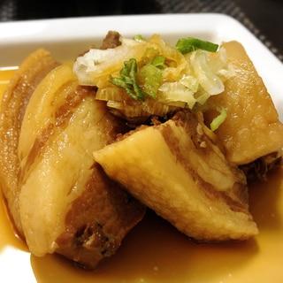 豚の角煮(電気圧力鍋使用)