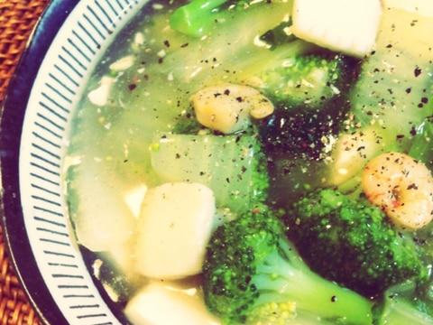 P's亭*白菜と豆腐の中華風うま煮