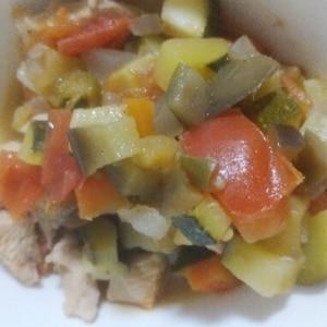 野菜の旨みがギュッ!ラタトゥイユ