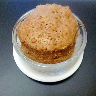 レンジで簡単♪HM使用♪ココアマグカップケーキ
