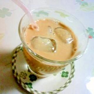 ☆アイスカフェオレ☆簡単!!すぐにできます♪