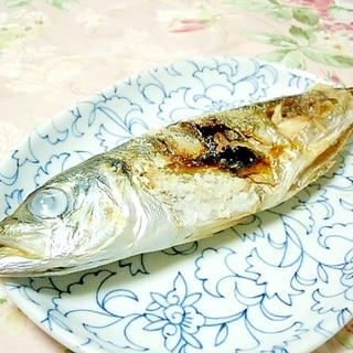 ほんわりかぼす風味❤鰺の塩焼き❤