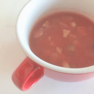 【節約】【簡単】なすトマトのコンソメスープ