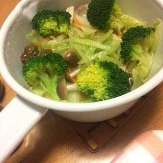 お鍋でそのまま蒸し野菜