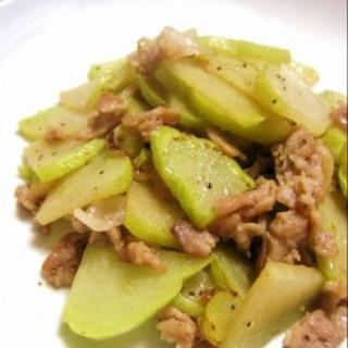 方法 ハヤトウリ の 調理