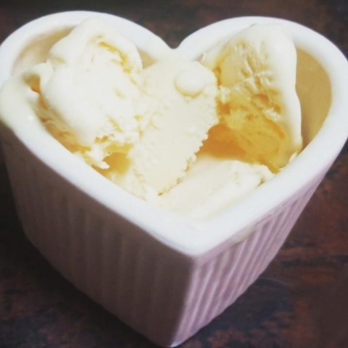 余ったホイップクリームで!簡単!バニラアイス
