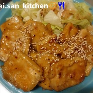 【高野豆腐】まるでお肉 照り焼き高野豆腐