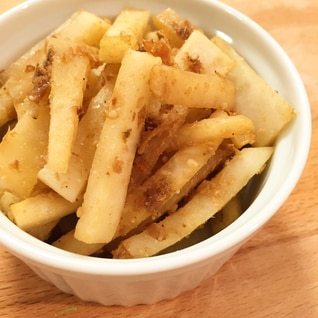 常備菜・お弁当に*大根の香り豊かなかつおぶし炒め