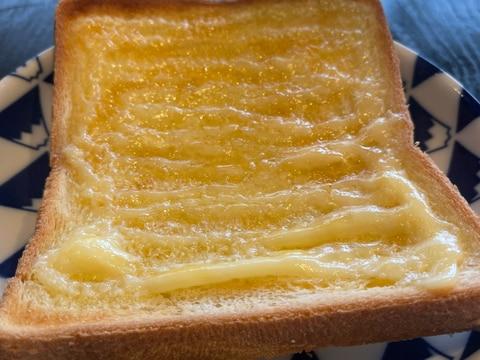 アレンジトースト!マヨ&うに醤油
