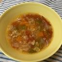 簡単☆子供も喜ぶ野菜たっぷりスープ
