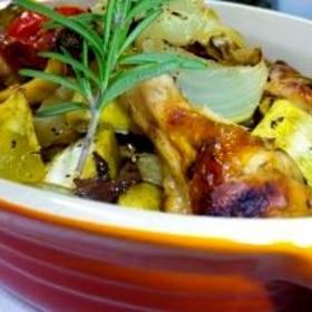 チキンとお野菜のグリル♪バルサミコ風味