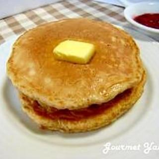 食物繊維たっぷり☆オートミールのホットケーキ