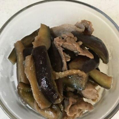 ミョウガとネギはなかったので、 ナスと豚肉だけで作りましたが、 生姜が効いてておいしく頂きました(^^)
