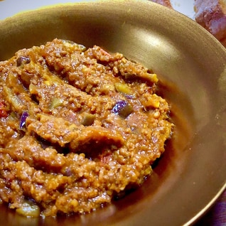 「印度の味」で簡単!♡美味しい♡無水キーマカレー
