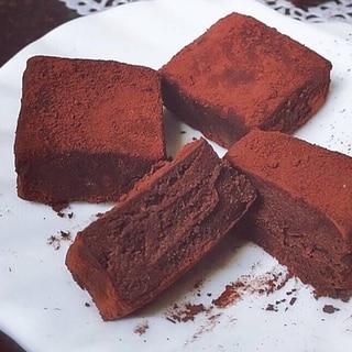 チョコレート不要★ココア豆乳ガナッシュ