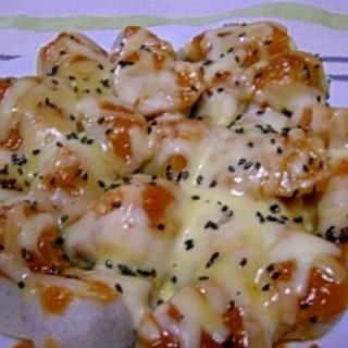 里芋の味噌チーズ焼き