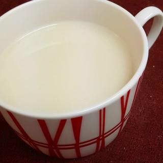 冬のカクテル(^^)ホット・ピニャコラーダ♪