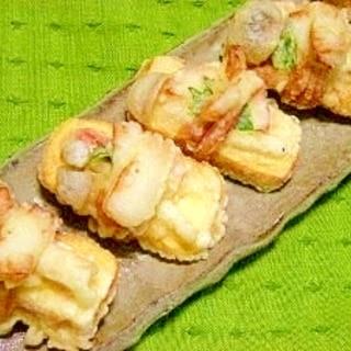 卵焼きの天ぷら