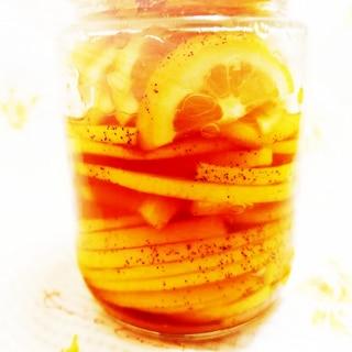 レモンのメイプル&砂糖漬け