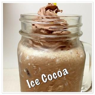 豆乳アイスココア♪ Ice Cocoa♪
