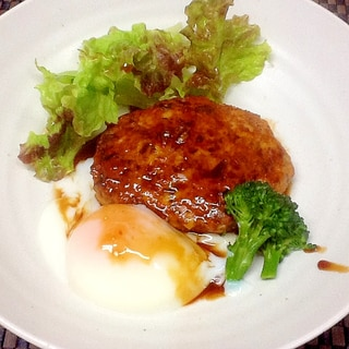 鶏つくねの照り焼きソース