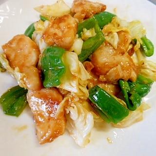 春キャベツと鶏むね肉の味噌コチュジャン炒め☆