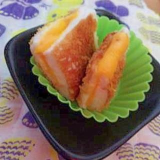 お弁当に☆はんぺんチーズ揚げ焼き