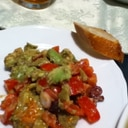 サラダ&ディップ トマトとアボカドのサラダ