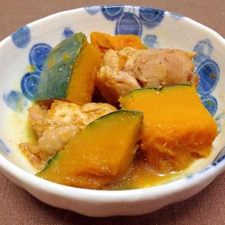 ボリュームおかず☆鶏肉とかぼちゃの煮物