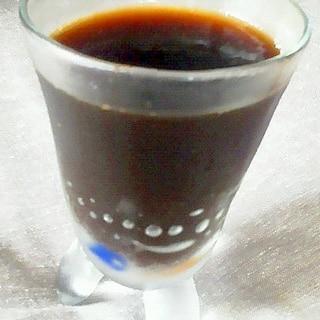 アガーで作るコーヒーゼリー