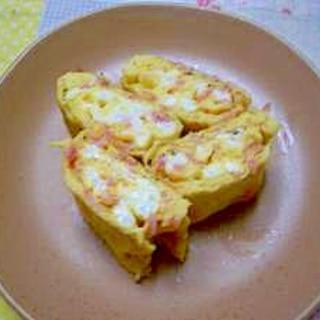 桜えび入り卵焼き
