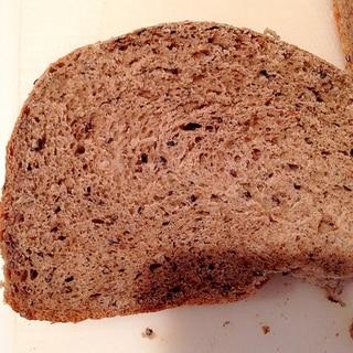 ヘルシー!ホエー入りのきな粉黒胡麻パン