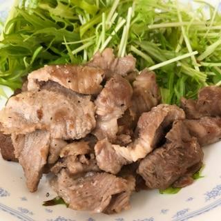 豚肉の塩麹漬け焼き